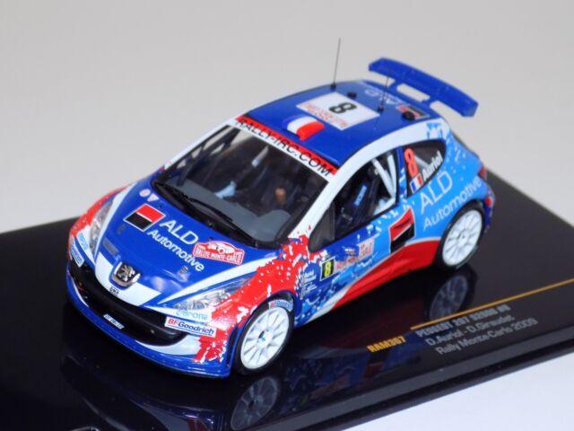1:43 Ixo Peugeot 207 S2000 #42 Rally Monte Carlo Burri//Duval 2013