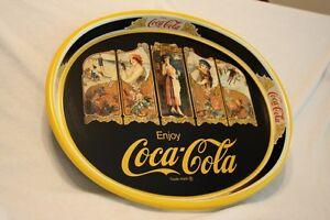 Rare Mint Coca-Cola Limited Edition Tray Shasta Lake Dam