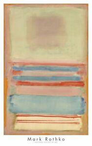 Abstrait Affiche 23.5x31.5 N°203 1954 par Mark Rothko Art Imprimé
