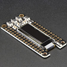 Adafruit FeatherWing OLED, 128x32 OLED Add-on für alle Feather Boards, 2900