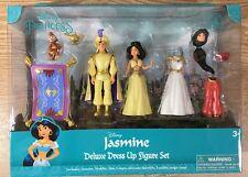 Disney Jasmine Magiclip Polly Pocket Deluxe Aladdin, Abu, Carpet