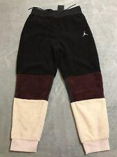 Air Jordan Sportswear Mens Sherpa Loose Fit Pants BQ6955-505; Sizes XL or XXL