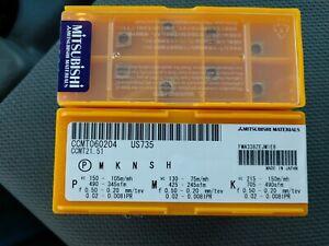 CCMT 060204 Grade UE6020 10 pcs MITSUBISHI Carbide inserts CCMT 21.51