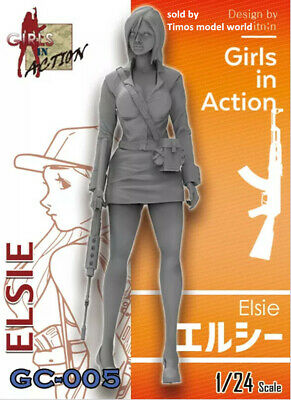 resin figure ZLPLA 1//35 Girls in Action Series Trixie