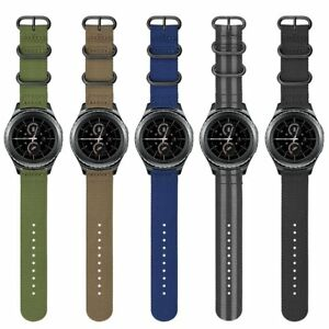 Details about Soft Woven Nylon Watch Band Sport Strap For Samsung Gear  Sport & Gear S2 Classic