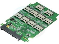 "10 Micro SD TF Memory Card to 2.5"" SATA SSD RAID Hard Drive Converter"