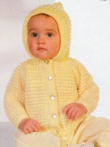 5c3f773c8 Baby Jacket Hood Raglan Sleeve Textured 20