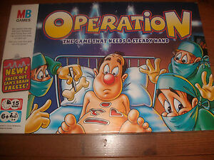 Operation-Game-2004-2006-Spare-Body-Parts-Pieces-Choose-from-List