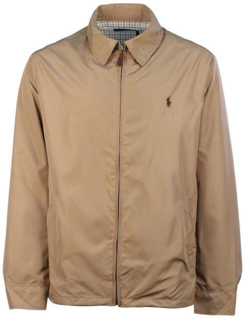 75d385e45 Polo Ralph Lauren Men Big Tall Pony Logo Khaki Lined Jacket Size 4xlt  Thespot917