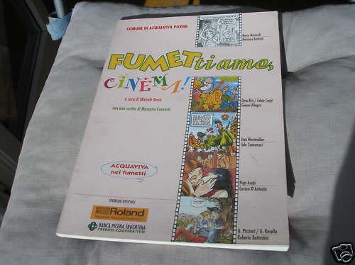 FUMETTIAMO CINEMA CATALOG ACQUAVIVA IN THE FUMETTI 1998