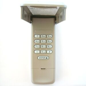 Liftmaster 877max Wireless Garage Door Keyless Entry Code