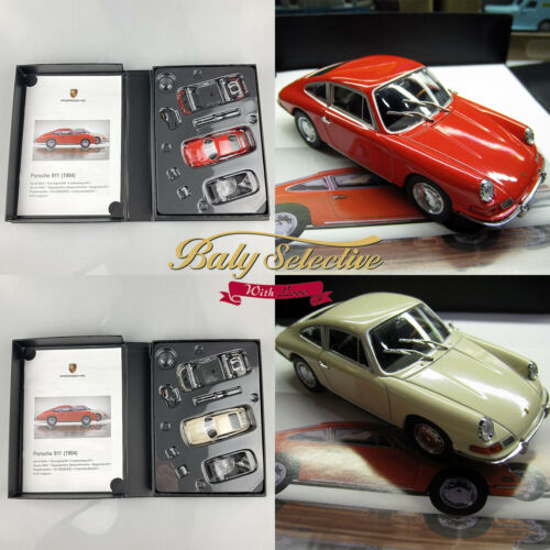 1:43 Porsche 911 1964 Diecast Assembly Model Kit Set Classic Sportcar Collection