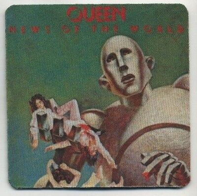 Queen Record Album cover COASTER News of the World