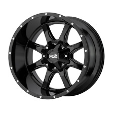 20 Inch 6x1351397 4 Wheels Rims Moto Metal Mo970 20x10 24mm Black Milled Fits More Than One Vehicle
