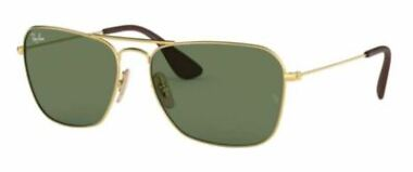 Ray-Ban RB3610 Rectangular Metal Sunglasses