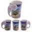 thumbnail 51 - Animal Shaped Handle Ceramic Mug Tea Coffee Cup Novelty Gift Jungle Tropical