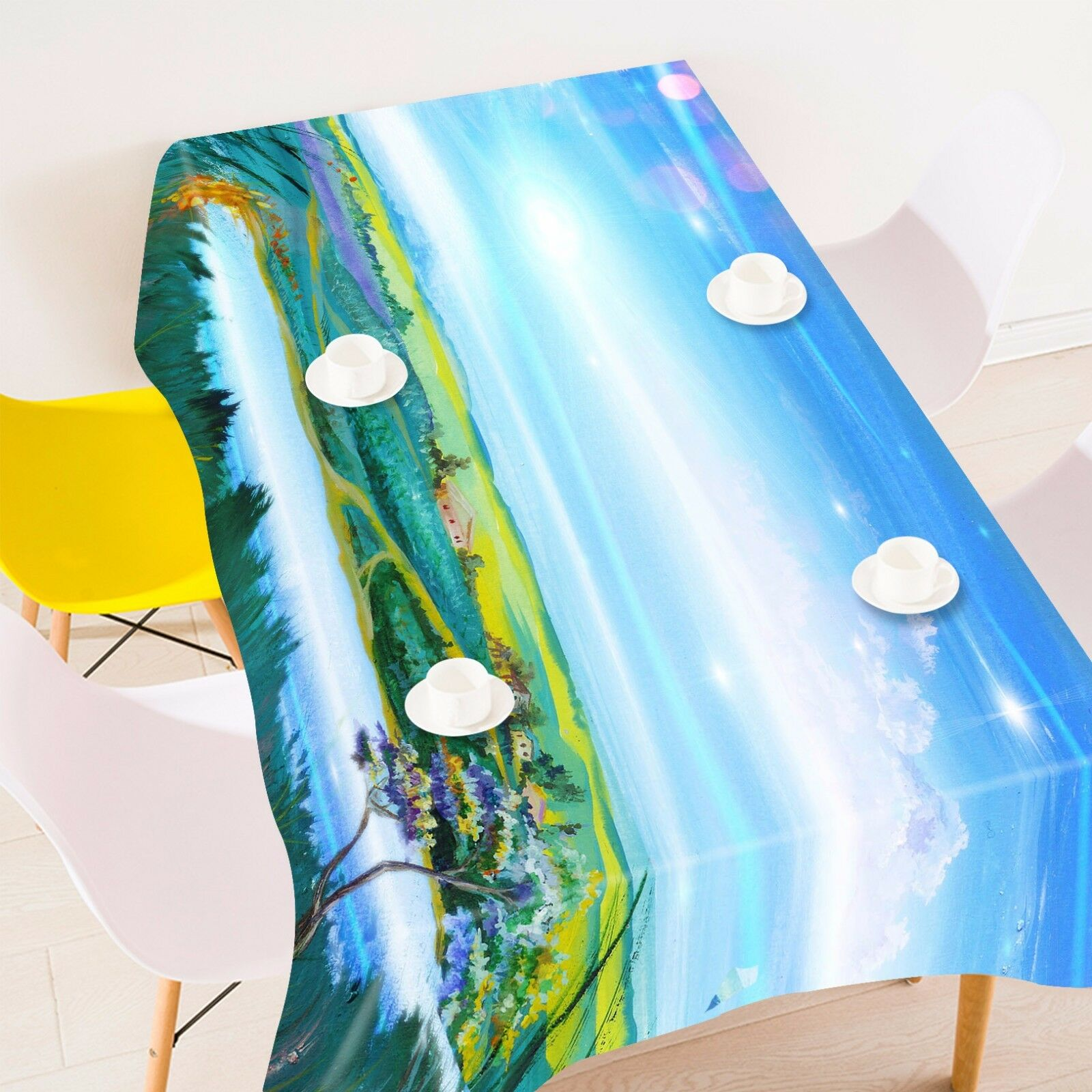 3D Sky lawn 96 Tablecloth Table Cover Cloth Birthday Party Event AJ WALLPAPER AU