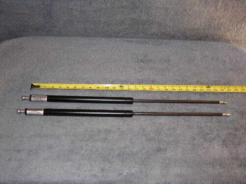 """2ea 26.3/"""" 26 /"""" 250lb NP Gas Spring Lift Rod Strut Support Rod Shock Damper Tube"""