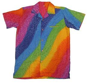 Para-hombres-Camisa-Hawaiana-Stag-Playa-Hawai-Aloha-fiesta-de-vacaciones-de-verano-S-XXL