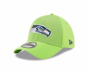 69d913c36 Seattle Seahawks Neon Green New Era 2017 Color Rush 39THIRTY Flex ...