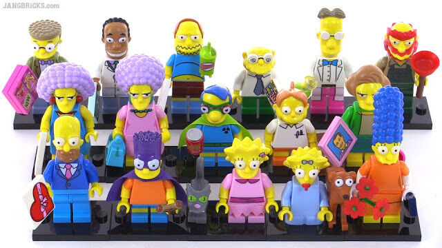 LEGO SIMPSONS SERIES 2 MINIFIGURES  -  CHOOSE THE 1 YOU WANT  -  FREE P+P