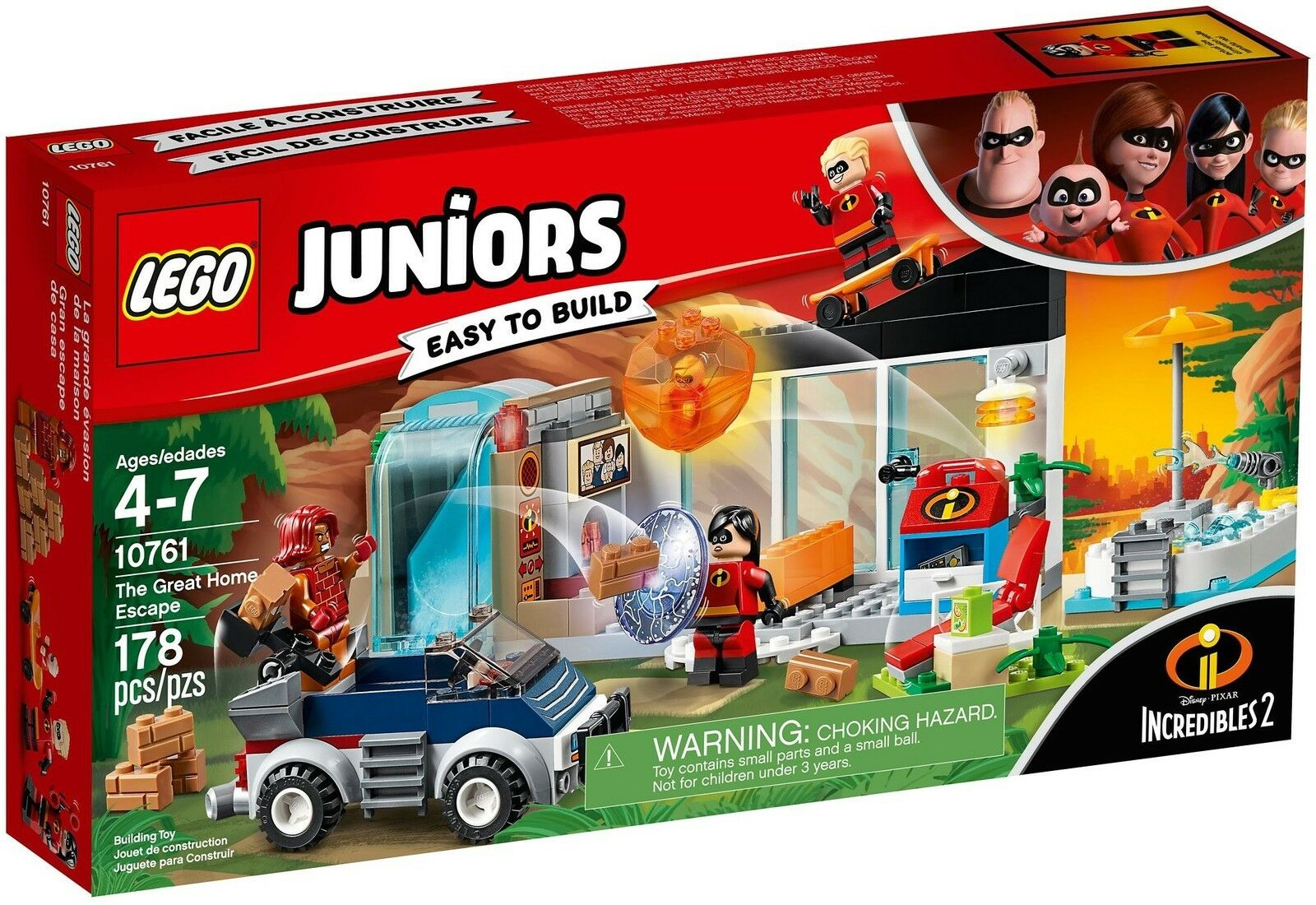 LEGO® Juniors 10761 Die große Flucht NEU OVP_The Great Home Escape NEW MISB NRFB