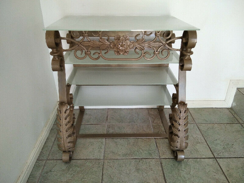 Wrought Iron table - TV Stand