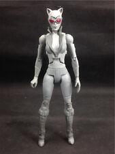 "DC Universe classic Arkham Asylum City Catwoman B&W 6"" loose figure B9"
