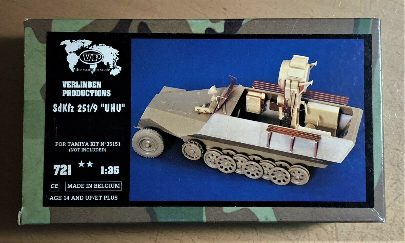 VERLINDEN 721 - SdKfz 251/9