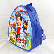 PAW PATROL Kids Backpack Travel Bag Childrens School Skye Chase Rucksack Gift 02