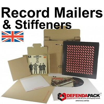 "100 STIFFENERS 50 MusicMAX TWISTS CRUCIFORM BOX 12/"" LP RECORD MAILERS VINYL"
