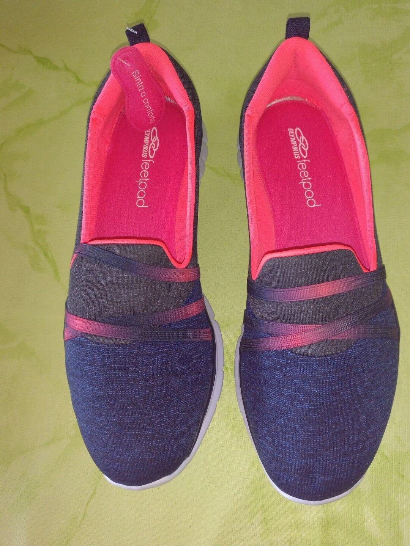 Neu@Olympikus Damen bequeme Schuhe, Slipper Gr 41 tolle Farben weiches Material