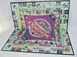 Monopoly-Here-Now-World-Edition-Replacement-Playing-Board-Game-Craft