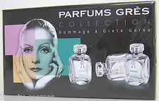 GRES Parfums Gres Collection Miniature Set  Greta Garbo 3 x 5 ml EDP Neu OVP