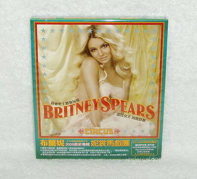 Britney Spears Circus Womanizer Taiwan Ltd Cd Dvd W Box 886974077626 Ebay