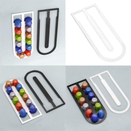 Coffee Capsule Pod Holder Stand Rack Hold 12 Capsules For