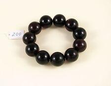 PREMIUM Cherry baltic AMBER bracelet 46g Bernstein 19 mm round beads red 琥珀