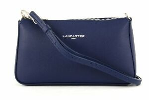 0ff97fb71c464 Das Bild wird geladen LANCASTER-Adele-Clutchbag-Tasche -Abendtasche-Umhaengetasche-Leder-Bleu-