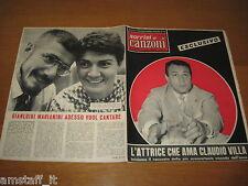 SORRISI E CANZONI=1958/40=CLAUDIO VILLA=MARIANINI=PAT BOONE=RONDINELLA=LATILLA=