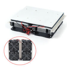 240w 12v Semiconductor Refrigeration Cooler Thermoelectric Peltier Cold Plate Us
