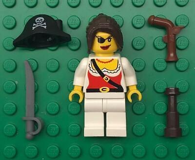 """NEW LEGO /""""SALTY SEA CAPTAIN/"""" MINIFIG LOT seagull sailor figure minifigure pirate"""