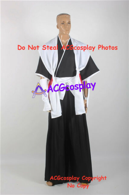 BLEACH White Haori Cosplay Costume From 1st to 13th Division Captain Long Cape