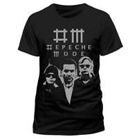 Official Depeche Mode - Black Photo -  Men's Black T-Shirt