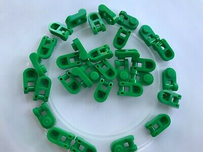 LEGO- NEW- #26047-GREEN-PLATE MODIFOED 1 X 1 W/ ROUNDED ...