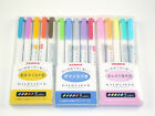 Zebra Mildliner 15 colors Full Set Highlighter Double Sided Marker Pen WKT7-5CZ