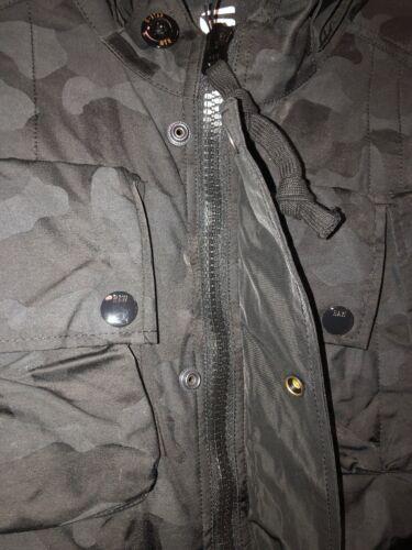 G STAR RAW protéger ospak Matelassé surchemise noir camouflage taille M et L NEUF//ÉTIQUETTE