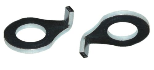 Bicycle RETAINING WASHER Oval For Axle//Front Wheel Hub 2 Piece NEW