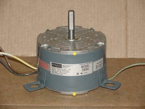FASCO 7124-0823//D-894 1//6HP ELECTRIC MOTOR 277 VOLT//1650 RPM SINGLE SHAFT 87759