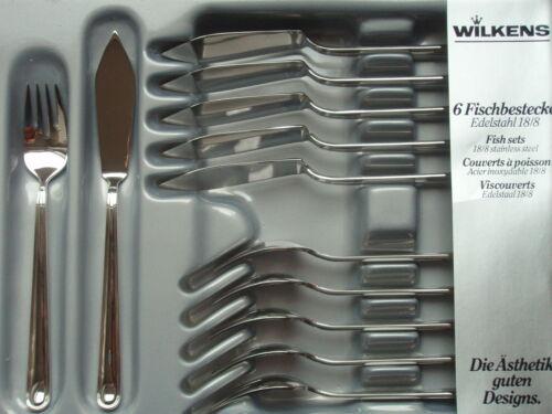 Wilkens-mondano acier inoxydable différentes pièces couverts au choix
