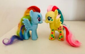 My Little Pony Rainbow Power Fluttershy & Rainbow Dash  / MLP Hasbro Bundle G4